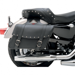 Saddlemen Highwayman Rivet Slant-Style Saddlebags - Jumbo