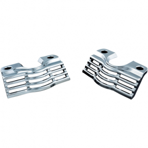 Kuryakyn Spark Plug Cover - Slotted - Chrome