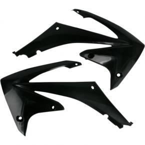 Acerbis Radiator Shrouds - CRF450 - Black