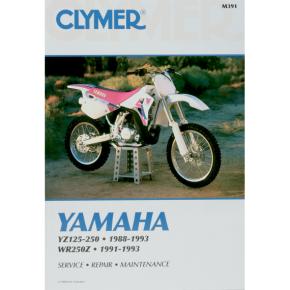 Clymer Manual - Yamaha YZ125 YZ/WR250