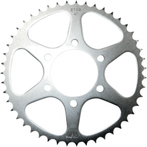 Sunstar Sprockets Rear Sprocket - 47-Tooth - Yamaha