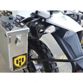 Happy Trails Products Aluminum Pannier Kit IMNAHA Husqvarna 701 Enduro