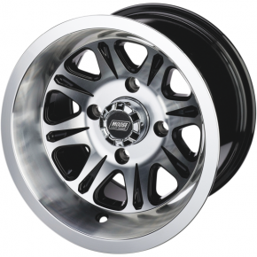 Moose Racing Wheel - 547B - 14X8 - 4/115 - 4+4