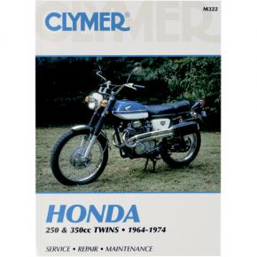 Clymer Manual - Honda 250/350 Twins