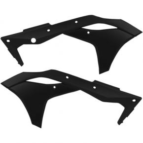Acerbis Radiator Shrouds - KX 250 F - Black