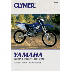 Clymer Manual - Yamaha YZ250F