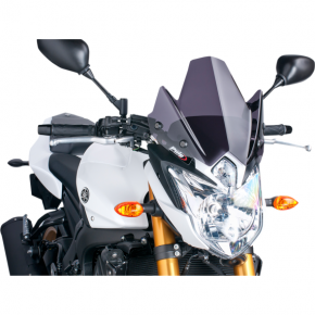 PUIG New Generation Windscreen - Dark Smoke - FZ8