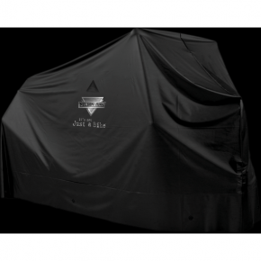 Motorcycle PVC Cover - Black - Large