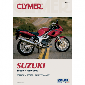 Clymer Manual - Suzuki SV 650