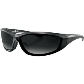 Bobster Charger Sunglasses  - Charger Sunglasses - Gloss Black - Smoke