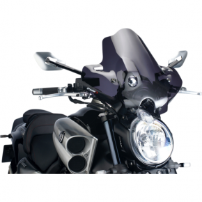 PUIG New Generation Windscreen - Dark Smoke - Vmax