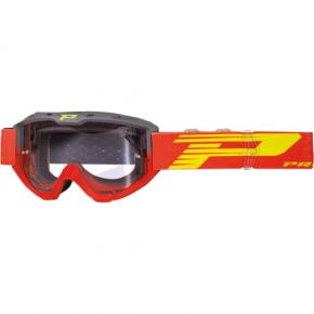 3450 Riot Goggles - Gray/Red - Light Sensitive