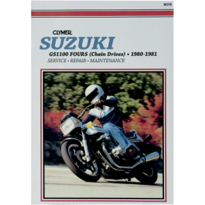 Clymer Manual - Suzuki GS 1100 Chain