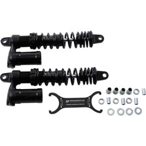 "Progressive Suspension 970 Series Piggyback Shocks - Gloss Black/Matte Black - 14.00"""