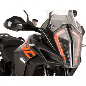 PUIG Protective Headlight Cover - KTM1290 - Clear