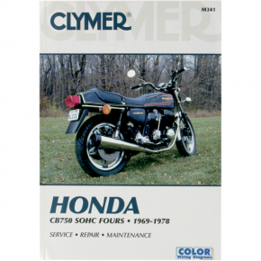 Clymer Manual - Honda CB750 SOHC