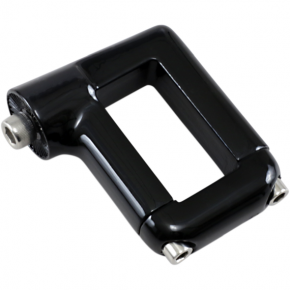 Kuryakyn License Plate Mount - 06 FXD - Black