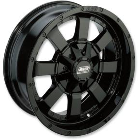 Moose Racing Wheel - 420B - 17X7 - 4/115