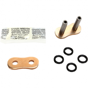 Enuma Chain (EK) 530 ZVX3 - Rivet Connecting Link - Gold