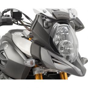 PUIG Protective Headlight Cover - Vstrom1000 - Clear