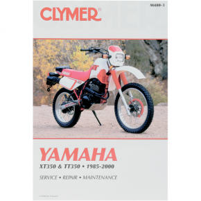 Clymer Manual - Yamaha XT/TT350