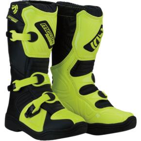 Moose Racing M1.3 Boots - Black/Hi-Viz - Size 7