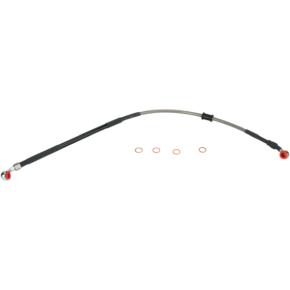 Moose Racing Stainless Steel Brake Line - CRF450R
