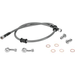 Moose Racing Stainless Steel Brake Line - KLR 650