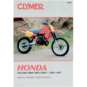 Clymer Manual - Honda CR250-500R