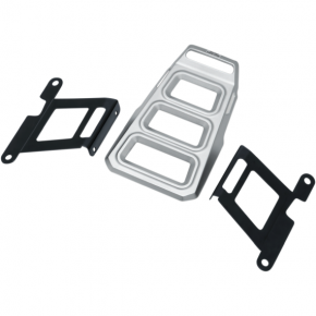 Kuryakyn Luggage Rack - Silver