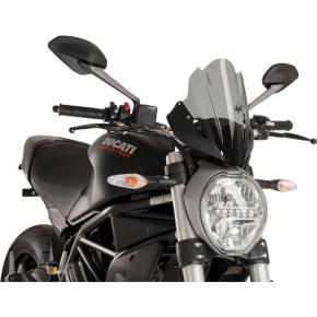 PUIG Race Windscreen - Dark Smoke - Tour - Ducati