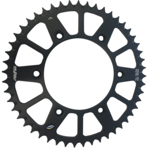 Sunstar Sprockets Rear Sprocket - 50-Tooth - Beta - Black