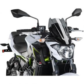 PUIG New Generation Windscreen - Dark Smoke - Z650