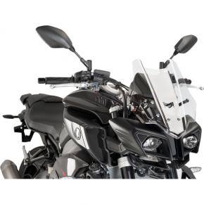 PUIG Race Windscreen - Clear - Yamaha
