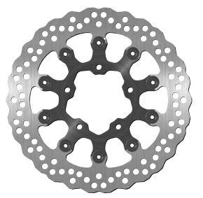 Bikemaster Brake Rotors for Street - Silver - 1414X