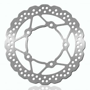 Bikemaster Brake Rotors for Street - Silver - 1419X