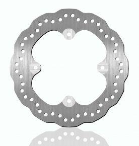 Bikemaster Brake Rotors for Street - Silver - 1485X