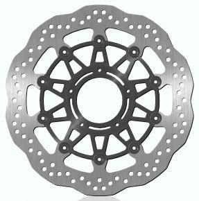 Bikemaster Brake Rotors for Street - Silver - 1506X