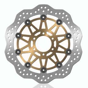 Bikemaster Brake Rotors for Street - Silver - 404X