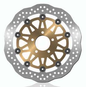 Bikemaster Brake Rotors for Street - Silver - 750X