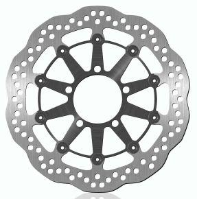 Bikemaster Brake Rotors for Street - Silver - 1728XG