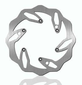 Bikemaster Brake Rotors for Offroad - Silver - 140X
