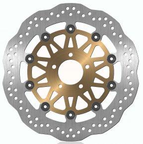 Bikemaster Brake Rotors for Street - Silver - 166X