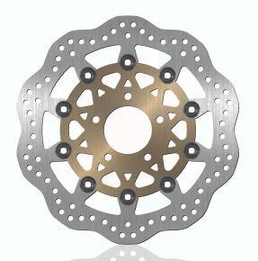 Bikemaster Brake Rotors for Street - Silver - 239X