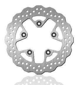 Bikemaster Brake Rotors for Street - Silver - 240X