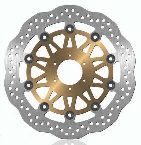 Bikemaster Brake Rotors for Street - Silver - 751X