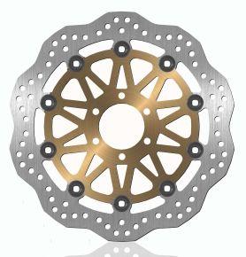 Bikemaster Brake Rotors for Street - Silver - 752X