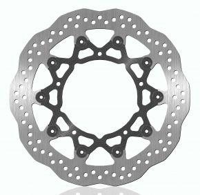 Bikemaster Brake Rotors for Offroad - Silver - 902X