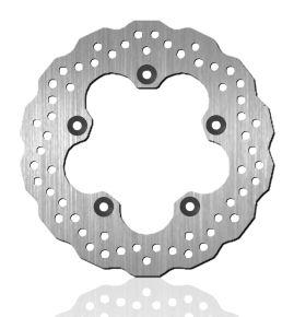 Bikemaster Brake Rotors for Street - Silver - 903X