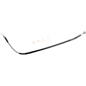 Moose Racing Stainless Steel Brake Line - Honda CR